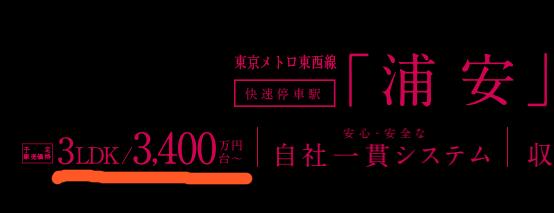 エクセレントシティ浦安X(10)の価格