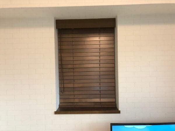 タチカワブラインドの木製ブラインドオーダーメイドカーテン4