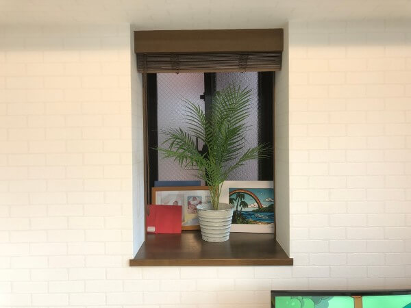 タチカワブラインドの木製ブラインドオーダーメイドカーテン1