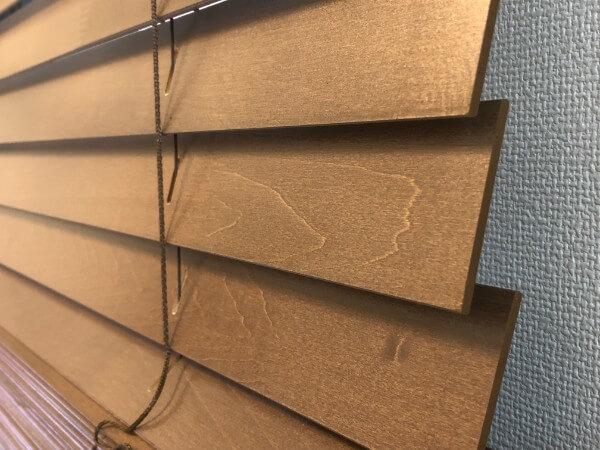 タチカワブラインドの木製ブラインドオーダーメイドカーテン7