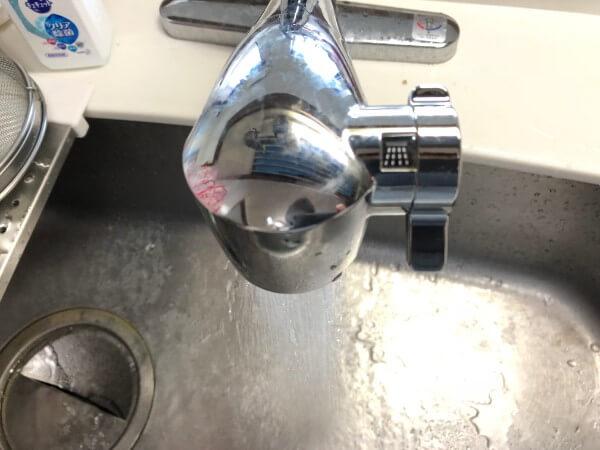 浄水器一体型ビルトイン蛇口(キッチン用)2