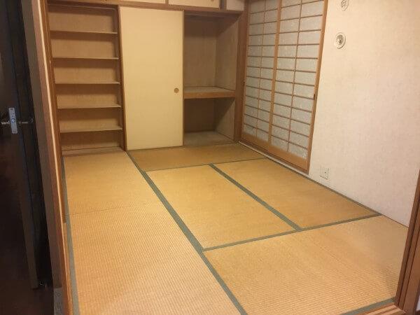 マンション畳(6畳)の張替えリフォーム/琉球畳5