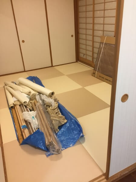 マンション畳(6畳)の張替えリフォーム/琉球畳4